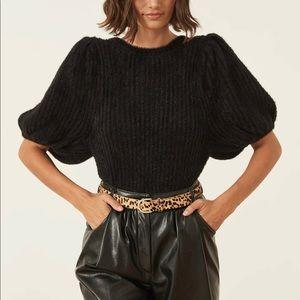 Revolve x LPA Black Bonnie Sweater